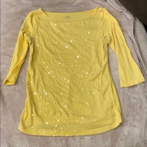3/4 Sleeve Top from the Loft